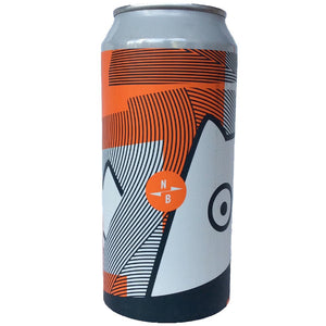 North Brewing Co x Het Uiltje TIPA 10% (440ml can)-Hop Burns & Black