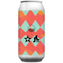 Cloudwater x Notch x Pink Boots A New Chapter India Pale Lager 6.5% (440ml can)-Hop Burns & Black