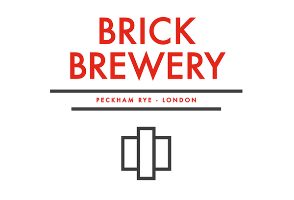 Brick Brewery Peckham Rye Red Ale 4.7% (330ml can)-Hop Burns & Black