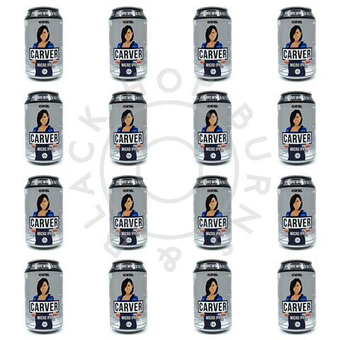 Gipsy Hill Carver Micro IPA 2.8% CASE (24 x 330ml can)-Hop Burns & Black