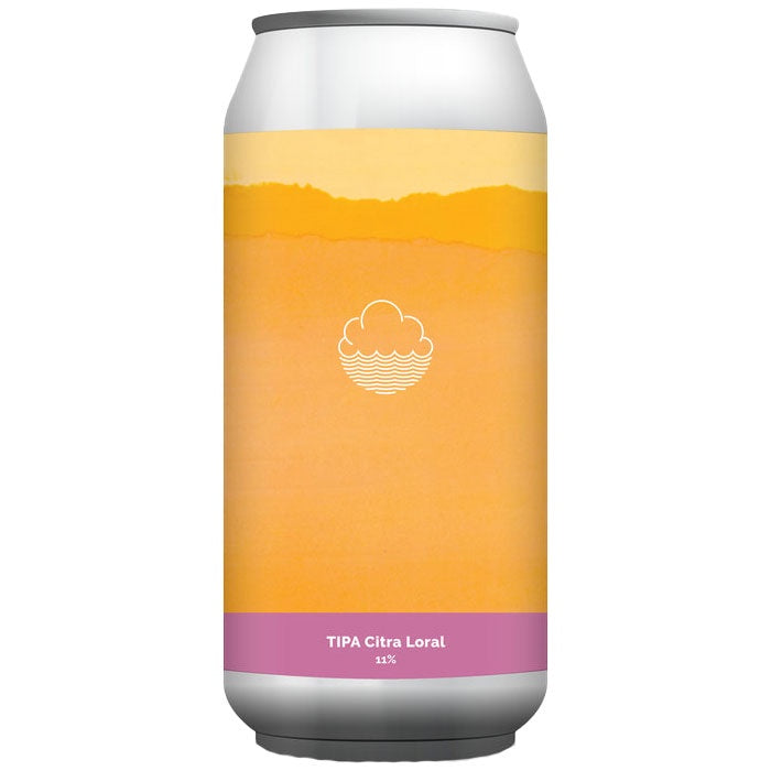 Cloudwater TIPA Citra Loral 11% (440ml can)-Hop Burns & Black