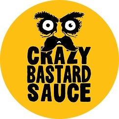 Crazy Bastard Chipotle & Pineapple Hot Sauce (100ml)-Hop Burns & Black