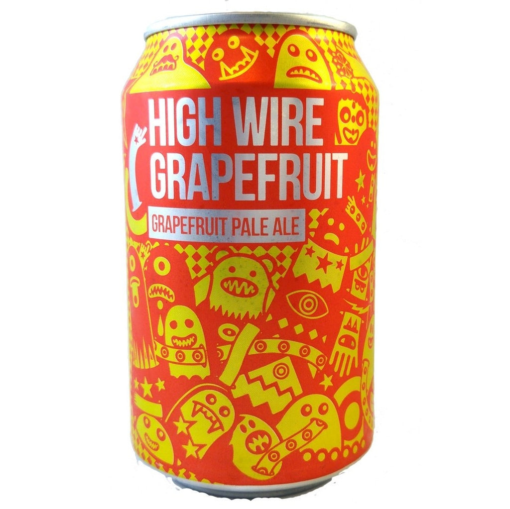 Magic Rock High Wire Grapefruit APA 5.5% (330ml can)-Hop Burns & Black