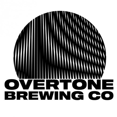 Overtone New England DIPA 8.2% (440ml can)-Hop Burns & Black
