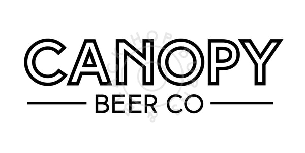 Canopy Champion Kolsch 4.5% (330ml can)-Hop Burns & Black