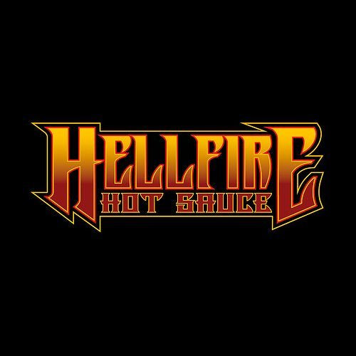 Hellfire Fiery Fool Hot Sauce (148ml)-Hop Burns & Black