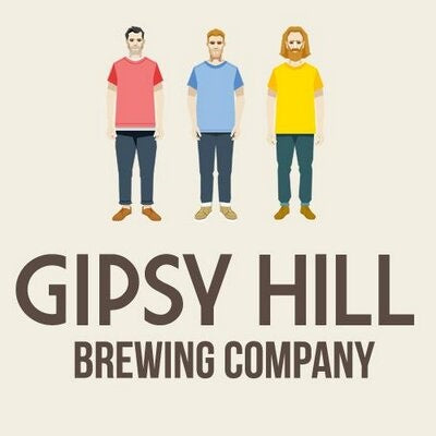 Gipsy Hill Hepcat Session IPA 4.6% (330ml can)-Hop Burns & Black