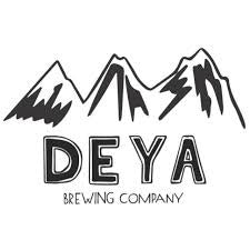 DEYA Glue IPA 6.5% (500ml can)-Hop Burns & Black