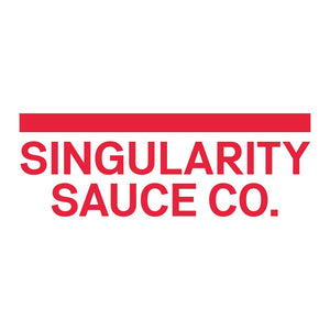 Singularity Sauce Co Purple Naga Viper Brain & Blueberries Hot Sauce (100ml)-Hop Burns & Black