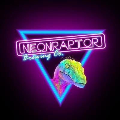 Neon Raptor Not Another One New England IPA 7.2% (440ml can)-Hop Burns & Black