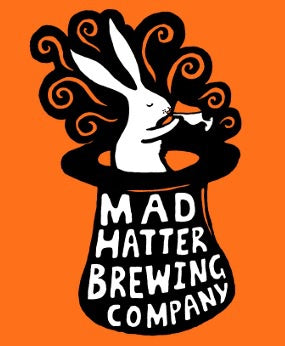Mad Hatter Tzatziki Sour 4.5% (330ml can)-Hop Burns & Black