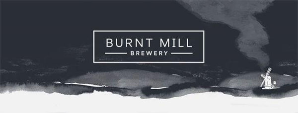 Burnt Mill Beyond The Firs Pale Ale 4.8% (440ml can)-Hop Burns & Black