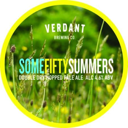 Verdant Some Fifty Summers DDH Pale Ale 4.6% flagon (500ml, includes flagon fee)-Hop Burns & Black