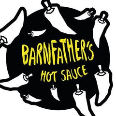 Barnfathers Pineapple Hot Sauce (150ml)-Hop Burns & Black