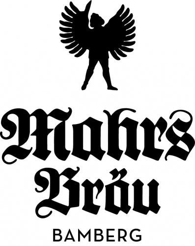 Mahrs Brau Helles 4.9% (330ml can)-Hop Burns & Black