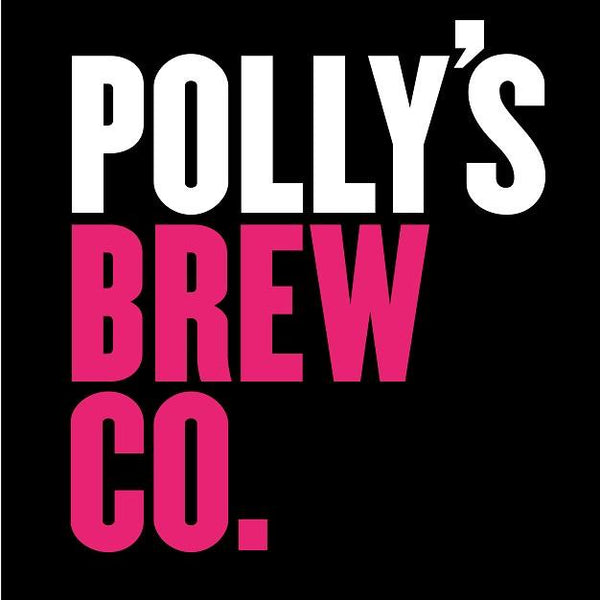 Polly's Brew Co On & On & On Lactose IPA 7.2% (440ml can)-Hop Burns & Black
