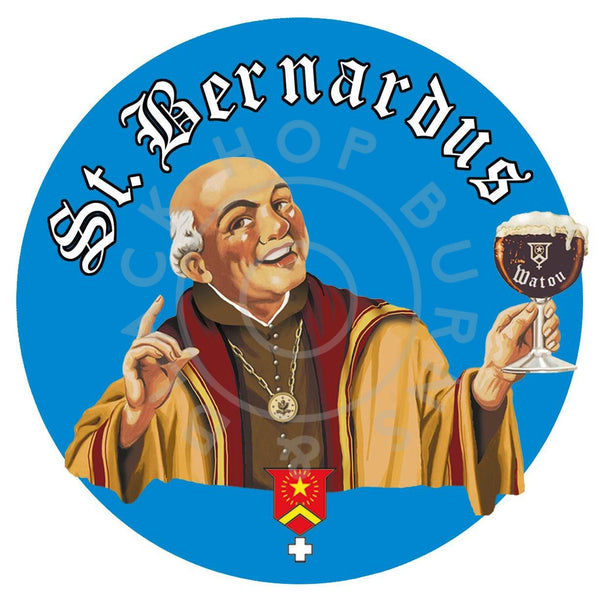 St Bernardus Tripel 8% (330ml)-Hop Burns & Black