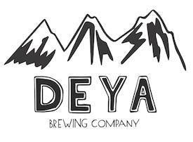 DEYA The Sky Keeps Staring At Me Double IPA 8.3% (500ml can)-Hop Burns & Black