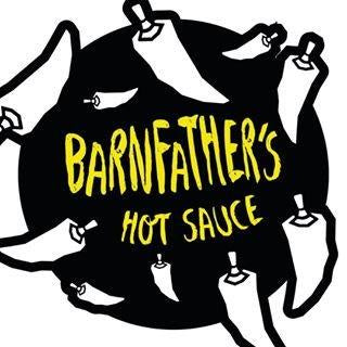 Barnfathers Hot #1 Sauce (150ml)-Hop Burns & Black