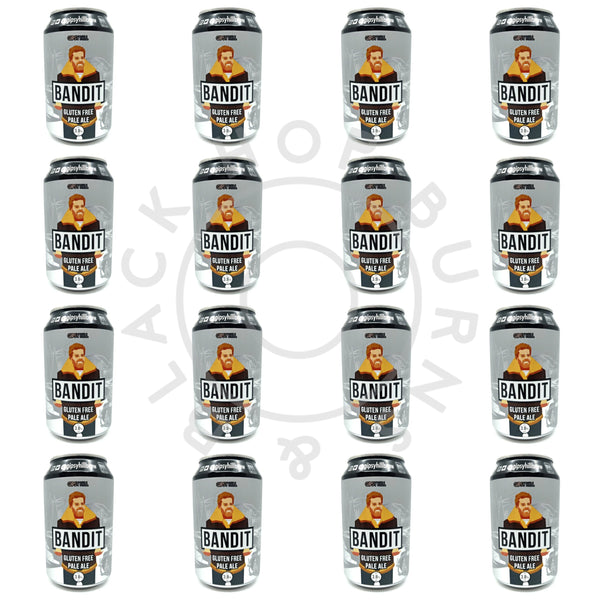 Gipsy Hill Bandit Gluten Free Pale Ale 3.8% CASE (24 x 330ml can)-Hop Burns & Black