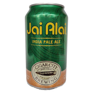 Cigar City Jai Alai IPA 7.5% (355ml can)-Hop Burns & Black