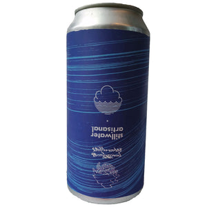 Cloudwater x Stillwater Tangible Object Lychee and Passionfruit Pilsner 5.3% (440ml can)-Hop Burns & Black