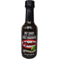 El Yucateco Habanero Black Label Reserve Hot Sauce (120ml)-Hop Burns & Black