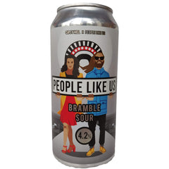 Gipsy Hill x People Like Us Bramble Sour 4.2% (440ml can)-Hop Burns & Black