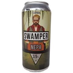 Gipsy Hill Swamper New England Pale Ale 3.5% (440ml can)-Hop Burns & Black