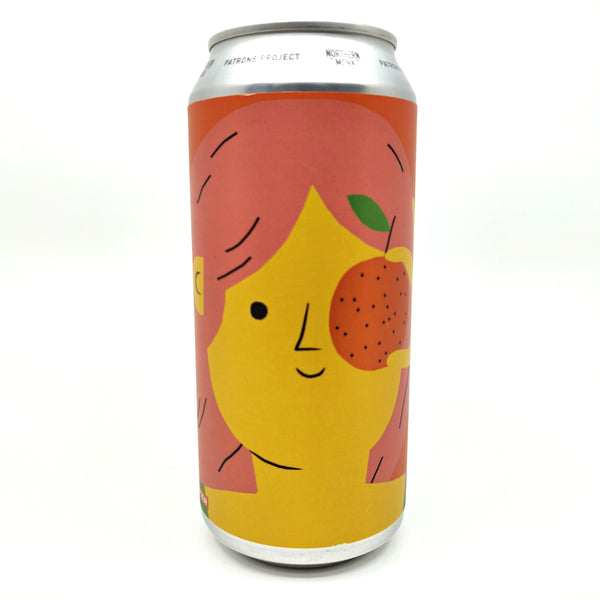 Northern Monk Farewell Tangerina Fruited Sour Ale Patrons Project 15.02 5.7% (440ml can)-Hop Burns & Black
