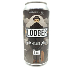 Gipsy Hill x Hackney Brewery Lodger India Helles Lager 5.8% (440ml can)