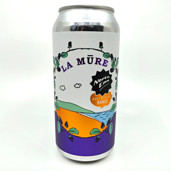 North End Brewing La Mure Blackberry Sour 5% (440ml can)-Hop Burns & Black