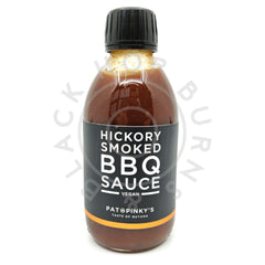 Pat & Pinky's Hickory Smoked BBQ Sauce (250ml)-Hop Burns & Black