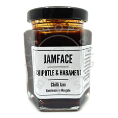 Jamface Chipotle & Habanero Chilli Jam (226g)-Hop Burns & Black