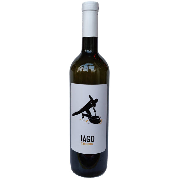 Iago's Wine Chinuri Skin Contact Qvevri-6 12.5% (750ml)-Hop Burns & Black