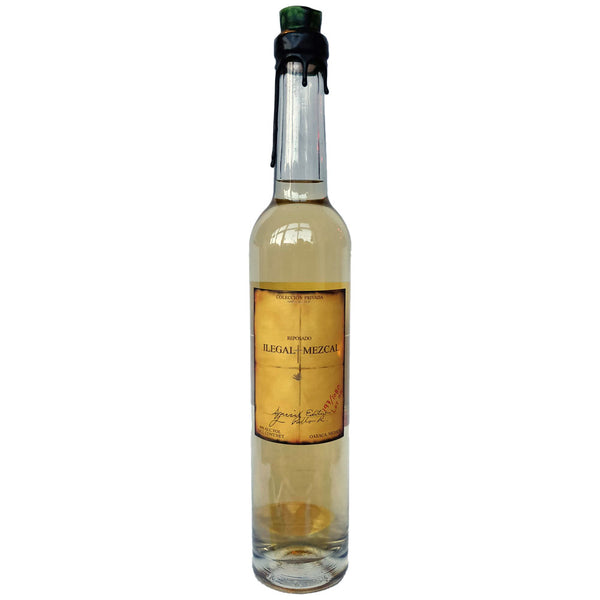 Ilegal Reposado Mezcal 40% (700ml)-Hop Burns & Black