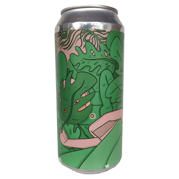 Left Handed Giant Out of Sight IPA 6.6% (440ml can)-Hop Burns & Black