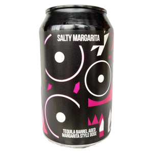 Magic Rock Salty Margarita Tequila Barrel Aged Margarita Gose 4.4% (330ml can)-Hop Burns & Black