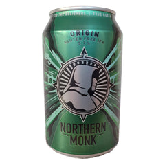 Northern Monk Origin Gluten Free IPA 5.7% (440ml can)-Hop Burns & Black