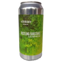 Verdant Rustling Substance Pale Ale 5.2% (440ml can)-Hop Burns & Black