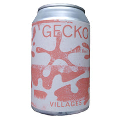 Villages Gecko Little Beer 2.9% (330ml can)-Hop Burns & Black