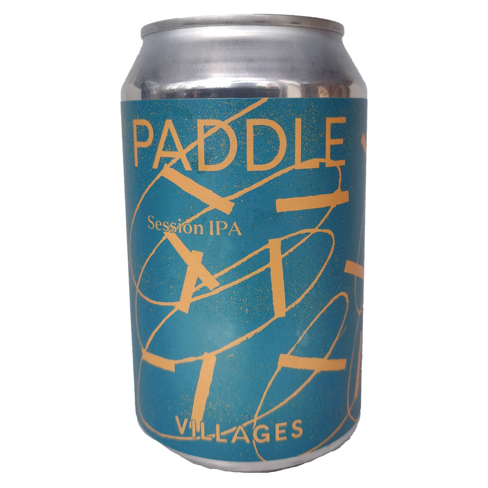 Villages Paddle Session IPA 4.1% (330ml can)-Hop Burns & Black