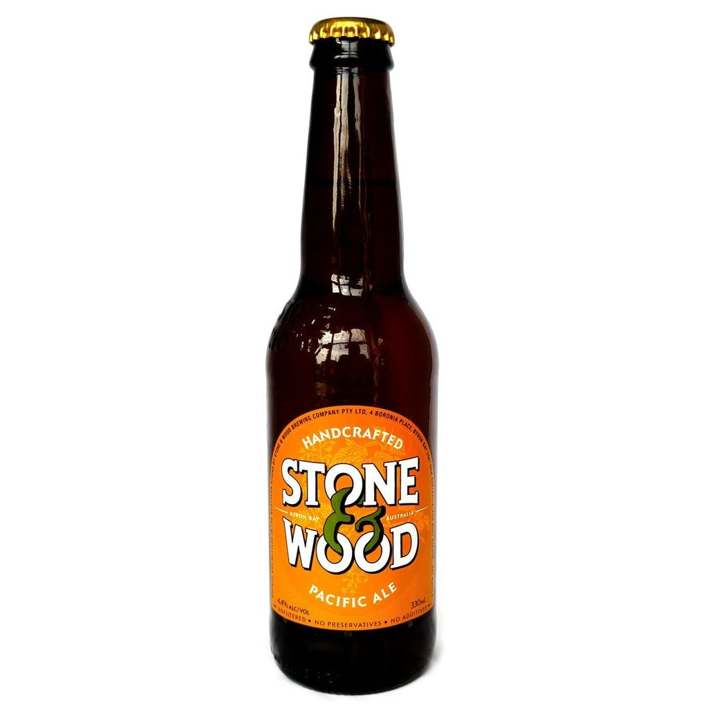 Stone & Wood Pacific Ale 4.4% (330ml)-Hop Burns & Black