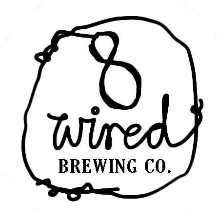 8 Wired Wild Feijoa Sour Ale 2018 6.8% (500ml)-Hop Burns & Black