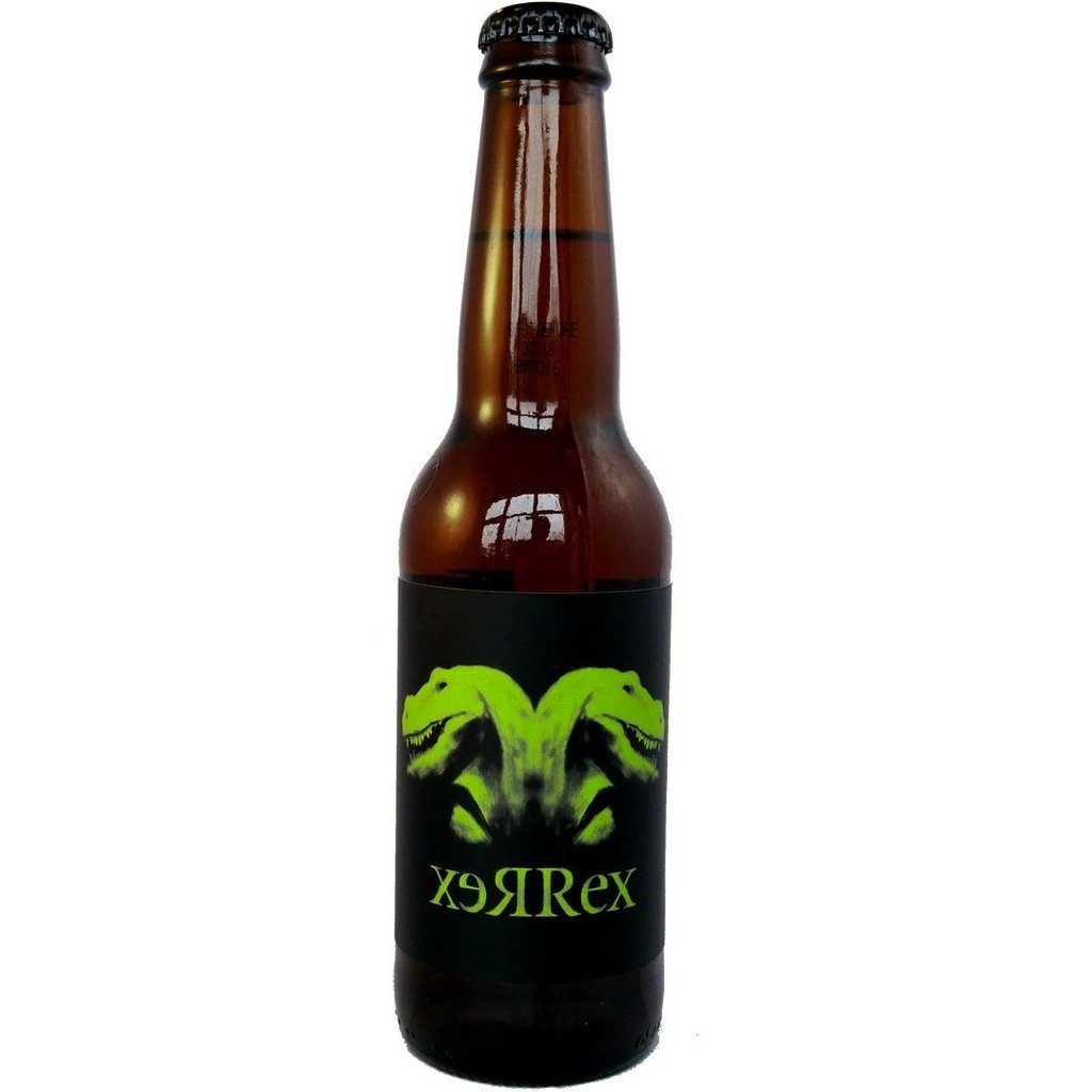 Yeastie Boys xeRRex Peat Smoked Ale 10% (330ml)-Hop Burns & Black