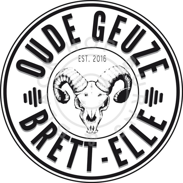 Lambiek Fabriek Oude Geuze Brett-Elle 5.5% (375ml)-Hop Burns & Black