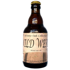 Alvinne Wild West Blond Sour Ale 6% (330ml)-Hop Burns & Black
