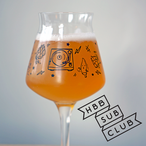 6 month pre-paid - HB&B Sub Club All Killer No Filler beer subscription box-Hop Burns & Black