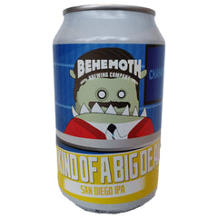 Behemoth Brewing Kind Of A Big Deal IPA 7.2% (330ml can)-Hop Burns & Black
