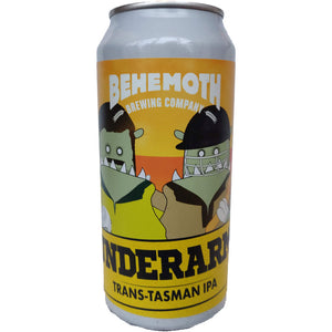 Behemoth Brewing Underarm Trans-Tasman IPA 6.4% (440ml can)-Hop Burns & Black